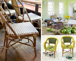 Wicker Bistro Chairs Best Rattan Bistro Chairs 2010 Apartment Therapy