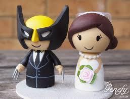 marvel cake toppers marvel weddings wolverine