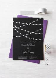 wedding invitations new zealand fairy lights large wedding invitation be my guest