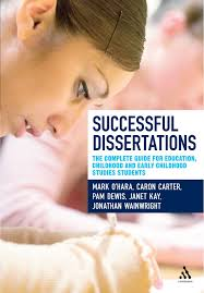 Dissertations In Education Successful Dissertations The Complete Guide For Education