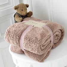 King Size Sofa Bed Luxury Soft Teddy Bear Throw Fleece Blanket Cuddly Thick Warm Sofa