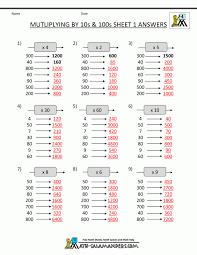 math worksheets multiplication 100 problems koogra