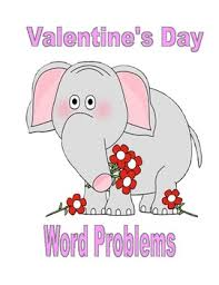 5th grade valentine u0027s day math word problems with answer key by