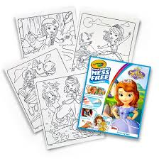 crayola color refill coloring book sofia target