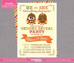 gender reveal ticket printable file invitation basketball