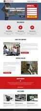 responsive landing page template security services responsive