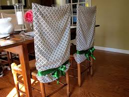 Chair Back Covers For Dining Room Chairs No Sew Pillow Chair Covers Sew Pillows Chair Covers And