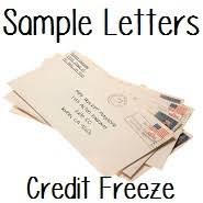 sample request to place a credit freeze letter doctor of credit