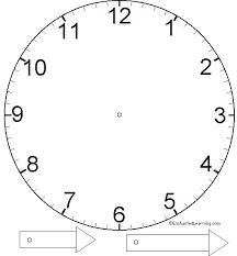 clock templates clock large blank clock template blank digital