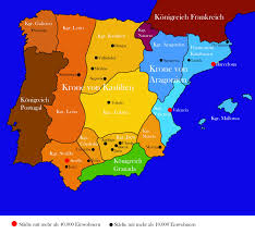 Granada Spain Map by File Map Of Spain 1490 Jpg Wikimedia Commons