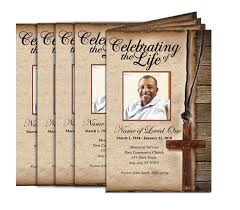 funeral program printing services memorial service programs booklets programs design professional