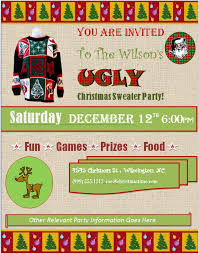 sweater invitations free downloads custom