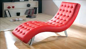 Leather Chaise Lounge Chairs Indoors Red Chaise Lounge Chair U2013 Peerpower Co