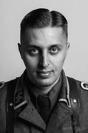 third reich haircut side parted undercut with an offset parting was popular in germany