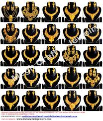 necklace pattern collection images Exclusive gold plated necklace set new arrival collection gpjw3 jpg