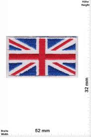 England Flag Jpg Patch Flagge United Kingdom Union Jack 2 Stück Flagge