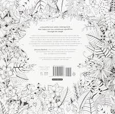 amazon com magical jungle an inky expedition and coloring book
