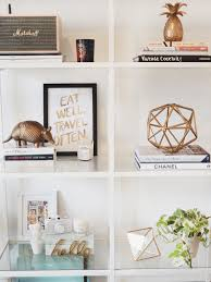 Chanel Inspired Home Decor Shelfie Sunday Kate La Vie White Shelves Blank Space And Shelves