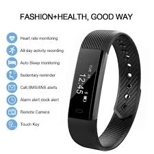 heart rate calorie bracelet images Heart rate fitness tracker camtoa id115 activity tracker jpg