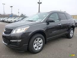 chevrolet traverse ls 2015 tungsten metallic chevrolet traverse ls awd 100027903