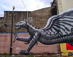 phlegm new mural for empty walls festival 13 cardiff wales street art by phlegm for empty walls urban art festival in cardiff wales 3
