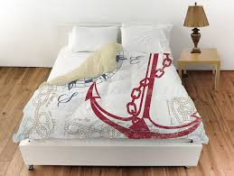 Anchor Bedding Set Anchor Bedding Set White Bed