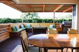 indoor outdoor living space deep rooted designs 2017