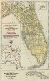 florida memory map of florida 1915