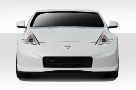 Nissan 350z Nismo Front Bumper - nissan 370z front bumper u0026 front lip 2015 2017 nissan 370z