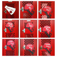 image of locker decorations sweet image softball locker ideas