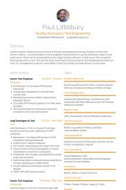 Software Developer Resume Download R And D Test Engineer Sample Resume