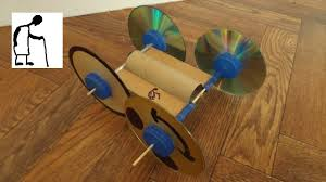 toilet paper roll rubber band powered car youtube