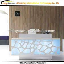 Acrylic Reception Desk Led Reception Desk U2013 Valeria Furniture