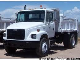 freightliner dump truck 2000 freightliner dump truck trucks commercial vehicles santa