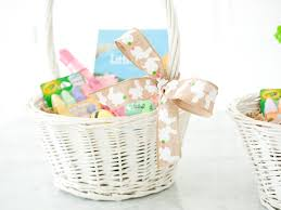 wicker easter baskets how to fill an easter basket happily after