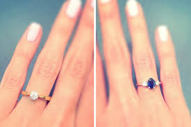 coloured engagement rings images Diamond vs gemstone engagement rings which is best for you jpg