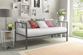 Living Room Daybed Dhp Furniture Modern Tribeca Metal Daybed