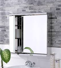 bathroom mirror cabinets buy lana stainless steel bathroom mirror cabinet by jj sanitaryware