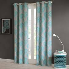 Aqua And Grey Curtains Rugs Curtains Charming Panel Gray And Aqua Blackout