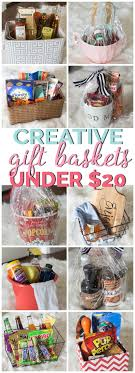 creative gift baskets gift basket ideas 20