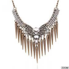 necklace choker wholesale images Factury wholesale exaggerated vintage luxury diamond rivet pendant jpg