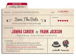 unique save the date cards save the date card for jamina frank ribbon fox design