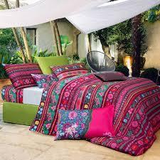 Tribal Print Bedding Bedding Delightful Maroon Bedding