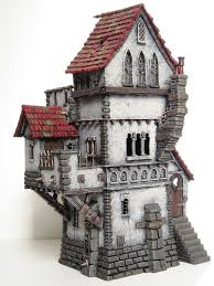 Medieval Manor House Floor Plan by Warhammer Haunted Tower 3 Converted Fortified Manor House