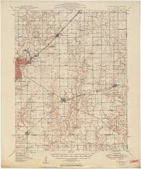 Ana Route Map Illinois Historical Topographic Maps Perry Castañeda Map