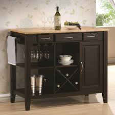 amazon com kitchen island with solid wood butcher block surface