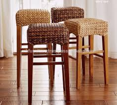 indoor interior wicker rattan furniture dining set bar stool