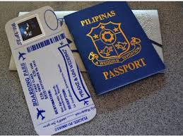 wedding invitations philippines passport wedding invitation chicanda philippines handmade