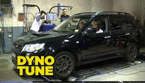 custom subaru forester custom dyno tune youtube