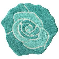 Cotton Bathroom Rugs Bloom Shaped Cotton Bath Rug Home